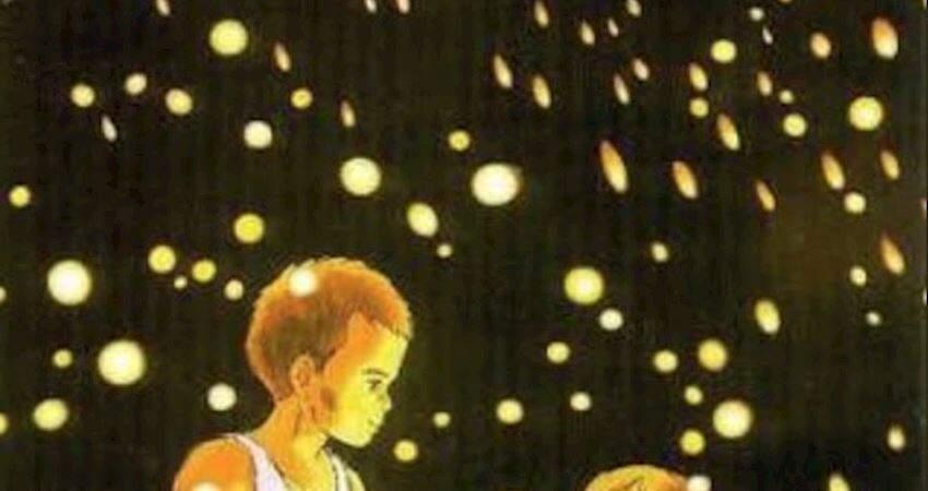 《螢火蟲之墓》海報藏了30年的「恐怖真相」!畫面一調亮...讓人揪心了!
