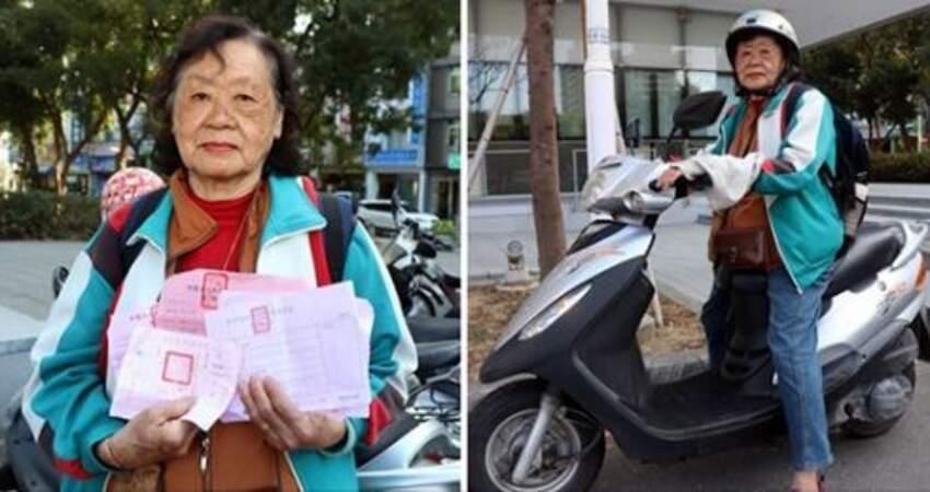 比年輕人衝!80歲勇嬤「不會上網、無導航」18天環島 沿途捐滿香油錢:看見台灣變美了