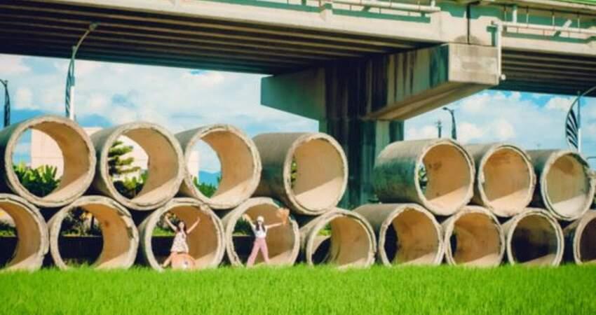 《哆啦A夢》經典名場景--水泥管空地在台灣!?苗栗神秘新景點等你秀揪來出遊~