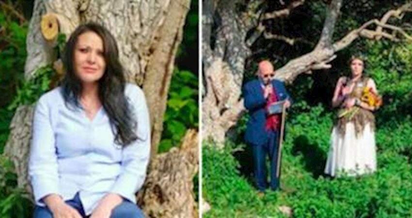 媽媽不管男友堅持「嫁給一棵樹」 她公開原因:婚後生活很美滿!