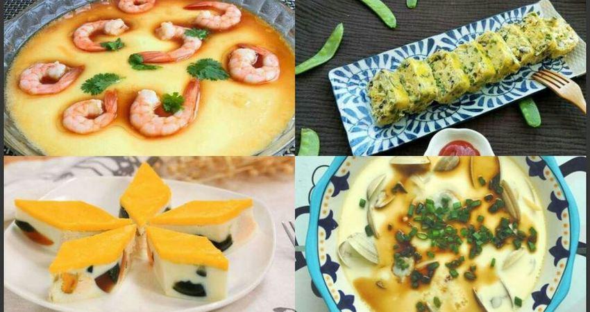 7種美味的蒸蛋做法,家中必備