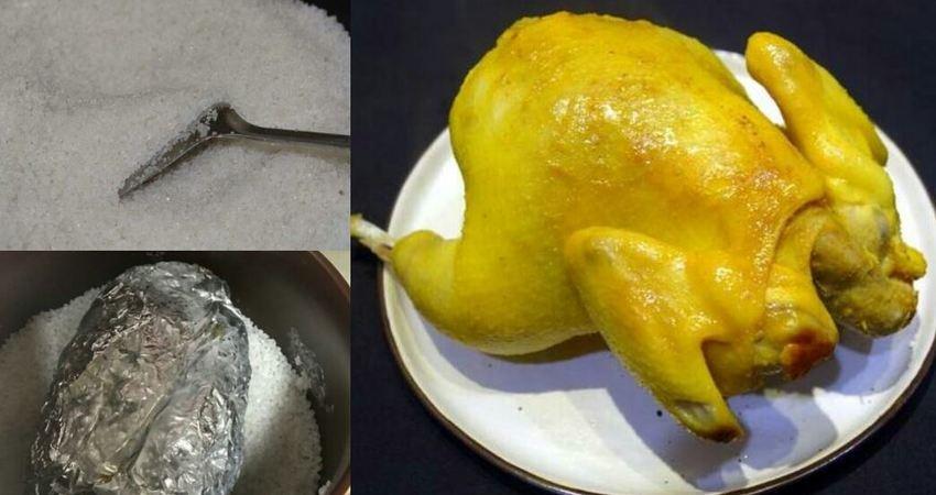 簡單易學的客家菜鹽焗雞