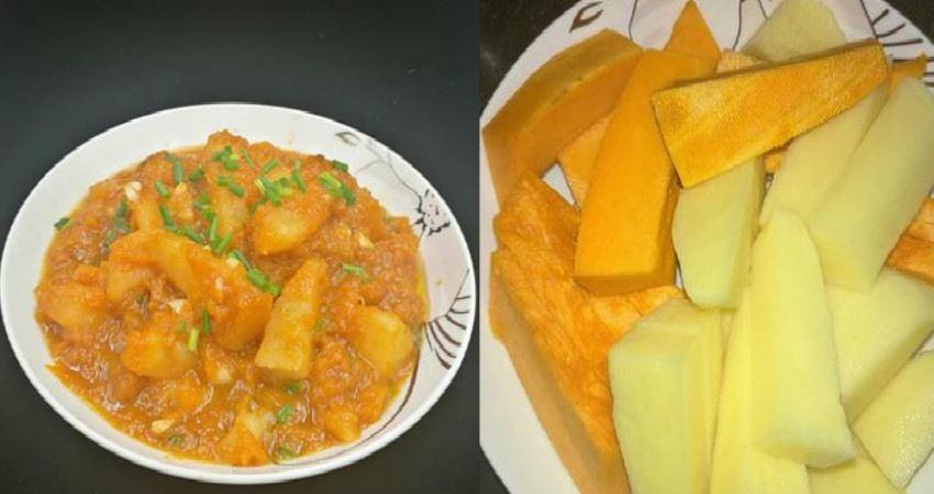 南瓜搭配它一起燒,竟這麼好吃,香,用來泡飯多吃一碗!