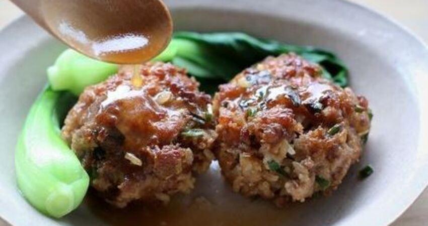 教你做好吃的肉丸子!簡單易學,軟嫩爽口,咬一口肉汁都流出來了