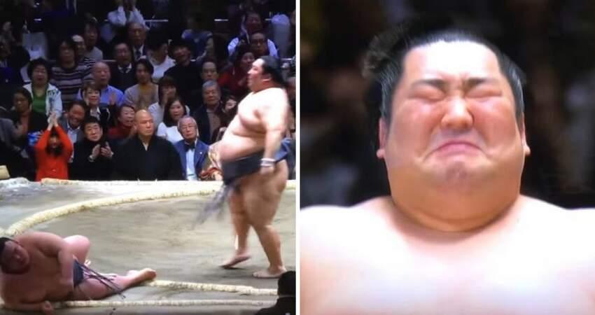 墊底第一…相撲力士「不被看好」卻逆轉勝 他秒潰堤:11年來首摘冠