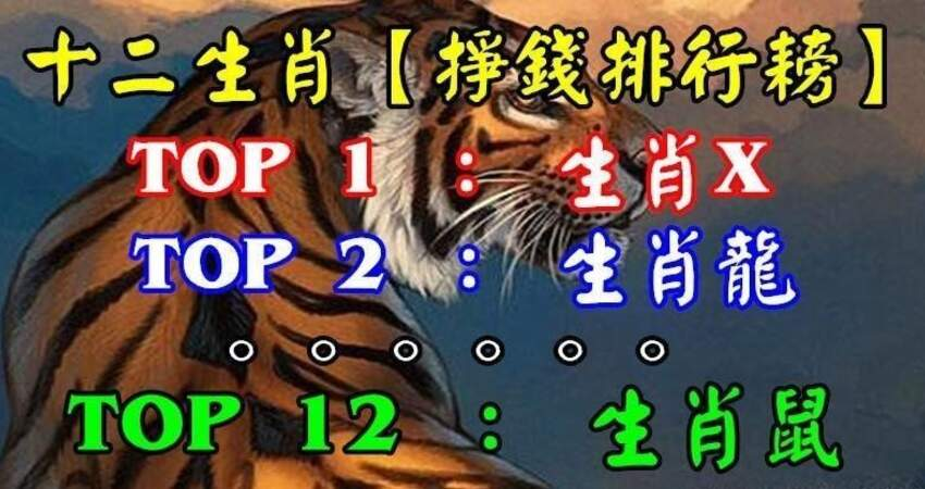 十二生肖(掙錢排行耪)