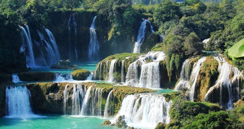 這是現實的山水畫嗎? 「亞洲第一瀑布」仙境風景美哭