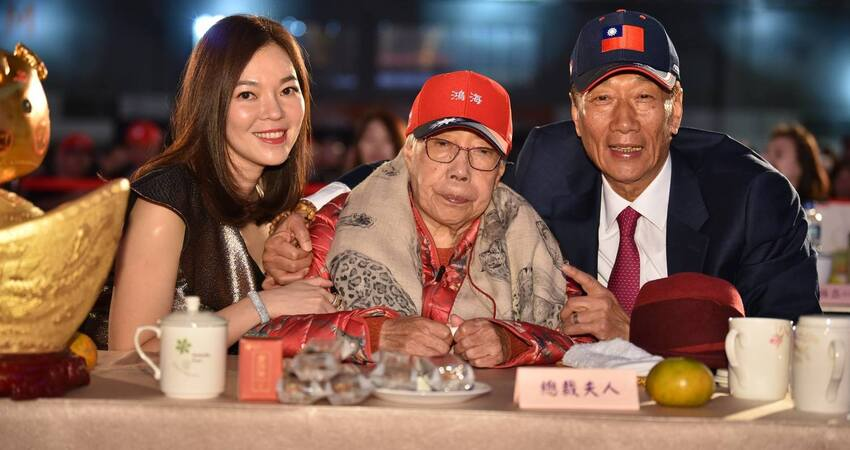 宣布選總統後... 郭台銘自爆太太曾馨瑩離家出走一星期