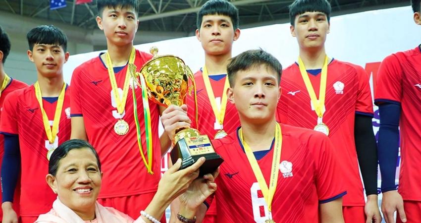 亞洲U23男排賽「中華隊奪歷史首冠」 創下隊史最好的成績