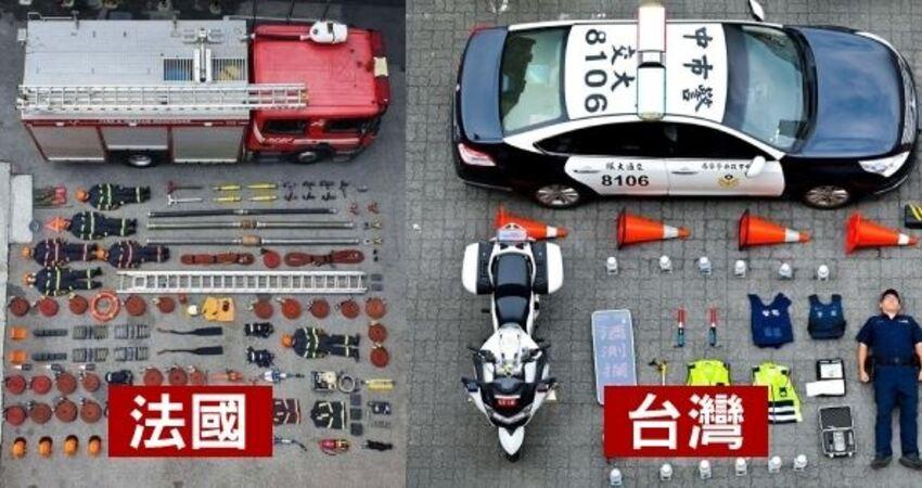 全球「警察開箱挑戰」爆紅!台灣波麗士參一咖,萬人讚爆:「好可愛,太逼真了」