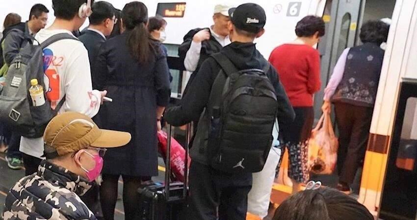 陸配14日上海回台違法搭高鐵遭開罰,台灣高鐵緊急公佈車次坐位