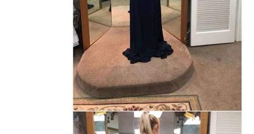 正妹試禮服想問閨蜜意見,照片卻誤傳給陌生人!收到的回覆讓她笑翻了