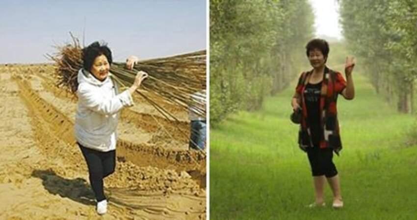 手種200萬棵!兒子遺願「在沙漠中種樹」 偉大母為他賣房12年「栽出一整片森林」