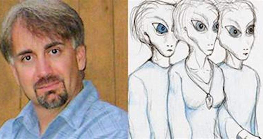 他聲稱「8年內被外星人會談11次」 畫出「到外太空的地圖」專家看傻眼:這是真的!