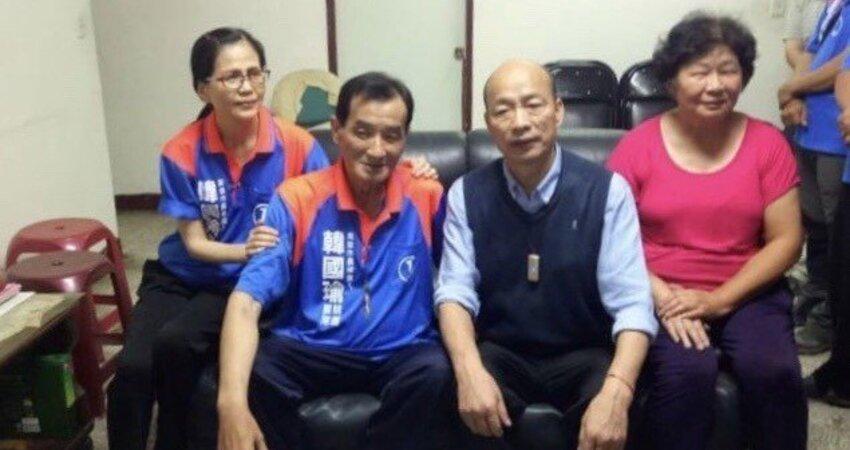 生死相挺的兄弟重病 韓國瑜發聲明後趕赴探望