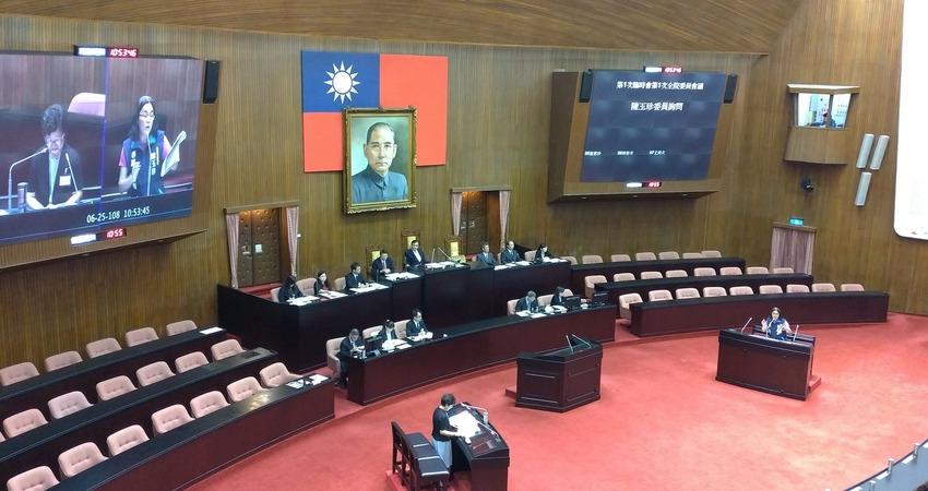 台灣是地名非國名!立委針對憲法、國家定位詢問大法官被提名人楊惠欽
