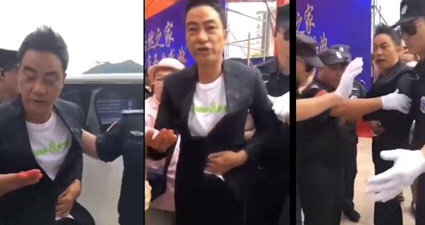 【有片】任達華中山出席活動遭凶徒以利刃突襲 腹部及手指受傷
