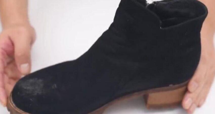 原來清理絨面鞋這麼簡單,不用水洗不用曬讓你天天穿新鞋