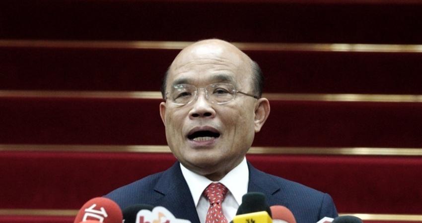韓國瑜競辦告三立 蘇貞昌:還沒當總統就一直告不太好