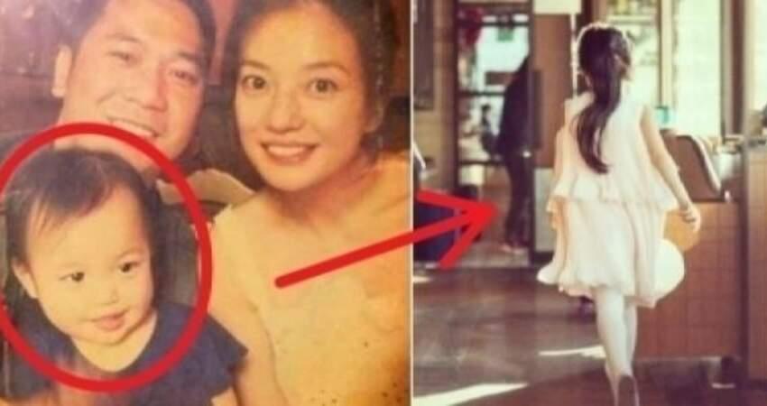 趙薇女兒小時候被嗆「像爸爸好醜!」長大後已長髮及腰!她一轉身眾人驚呼:超像媽媽!