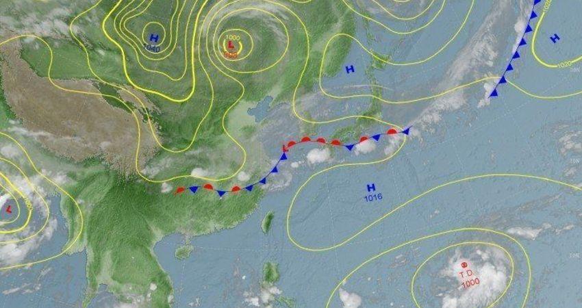 潭美颱風最快今生成 預估恐影響台灣!