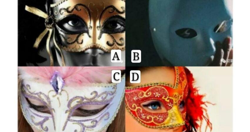 你最想撕掉哪一款面具?測出你要小心身邊的誰呢?
