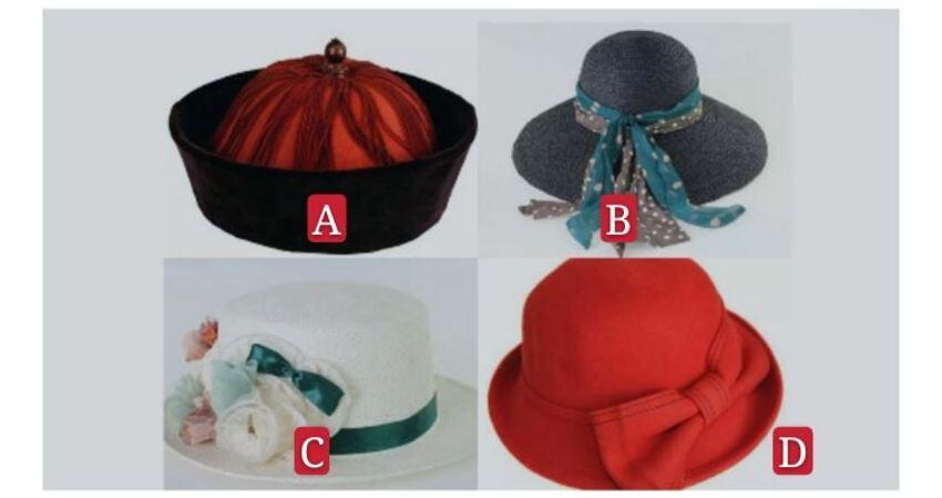 選一個你喜歡的帽子,全面分析你在別人眼中是什樣子的人?