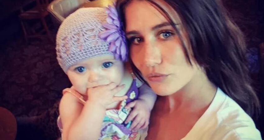 24歲年輕媽媽自殺身亡,留下8個月大的女兒