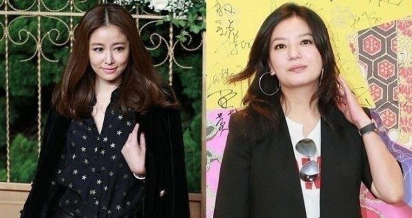 43歲趙薇與43歲林心如,同樣穿西裝搭配皮褲!看到下半身後,網友竟吐槽:差別也太大了吧!