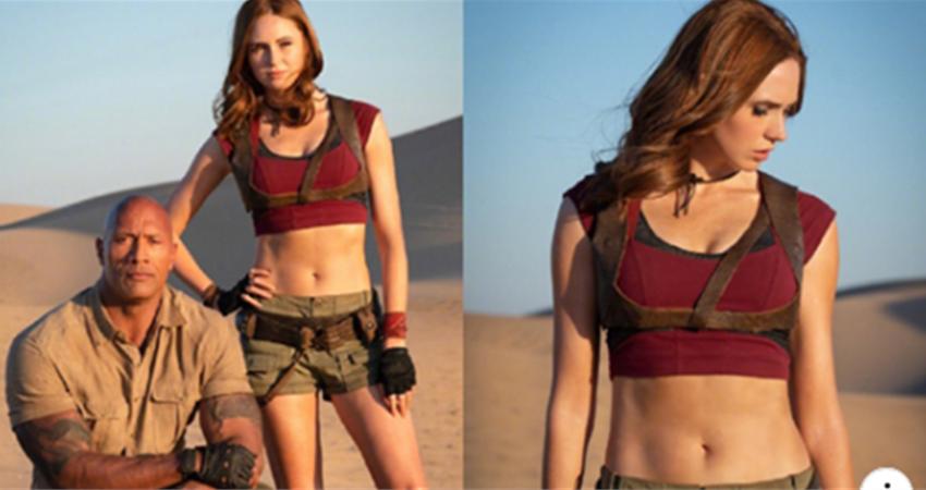 涅布拉性感回歸!《野蠻遊戲:瘋狂叢林》續集宣佈完結,巨石強森手臂比女主角大腿還粗壯