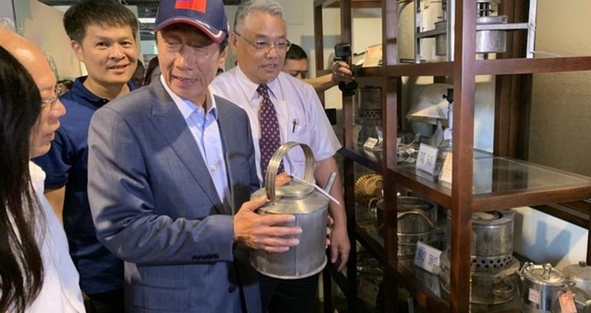 郭台銘有信心與韓國瑜合作 「他是我的兄弟、也是我心中的英雄」