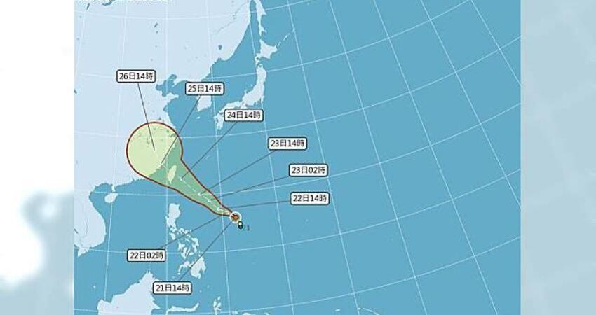 確定生成!颱風白鹿「這天」影響最劇 恐直撲台灣