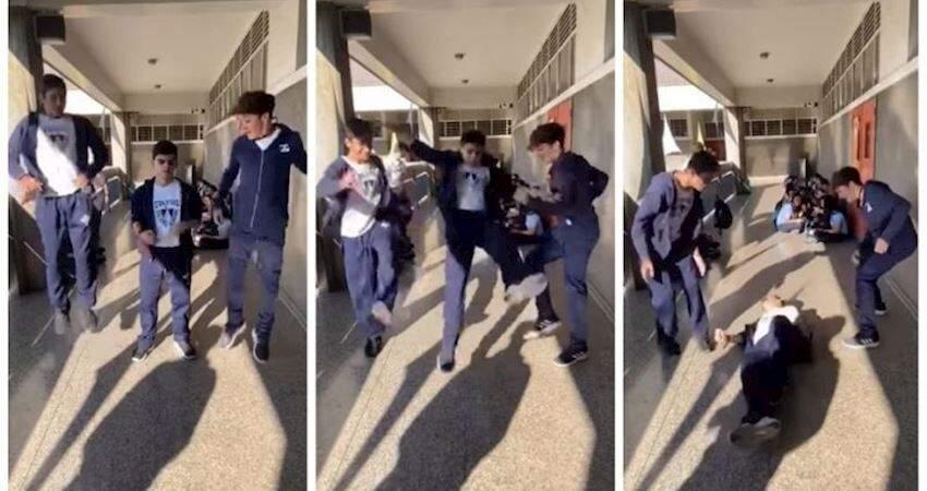 勿模仿!全球流行「3人跳挑戰」學童頭重摔在地死亡