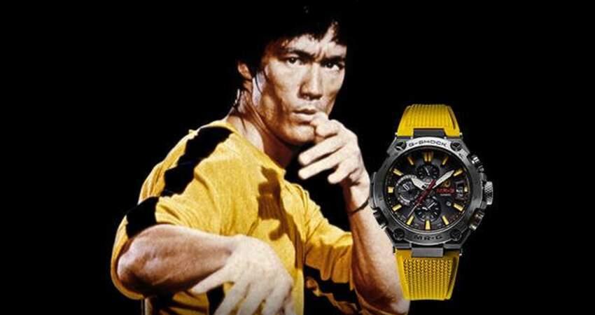 李小龍誕辰80週年! 限量紀念錶款「李小龍G-SHOCK」還刻上中文功夫哲學