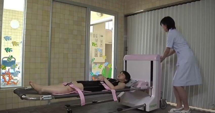日本發明懶人神器,全自動的「洗澡機」,躺進去睡一覺就洗好了!