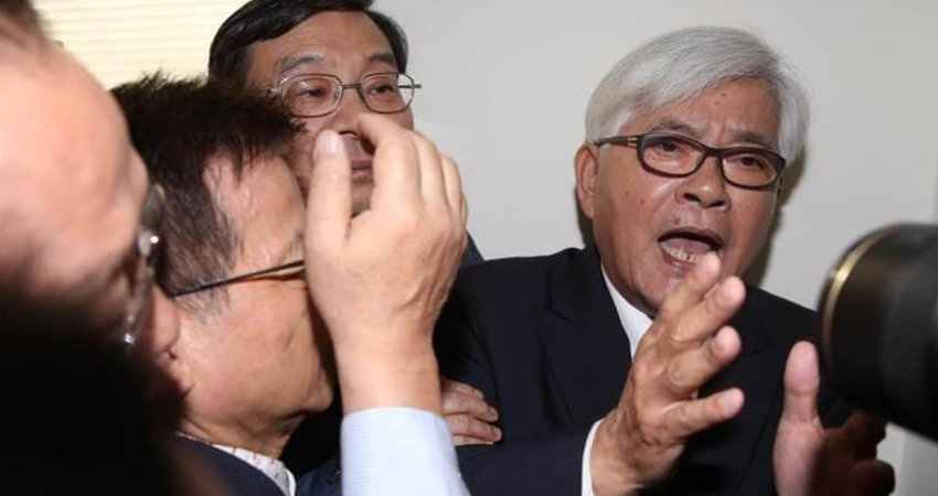 再戰中選會主委人事案!江啟臣:國民黨團絕不退讓