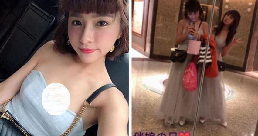 史上最猛伴娘!峮峮大元合體禮服…雙雙遭鏡子出賣:很可以