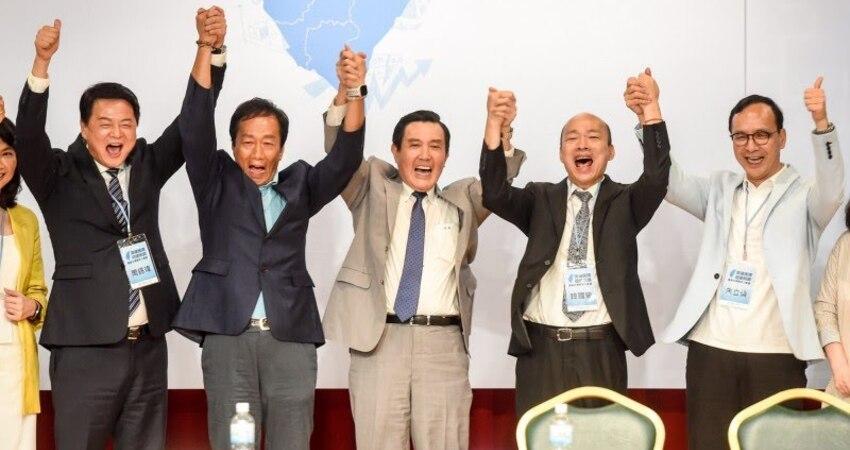 直播》國民黨總統初選 5位參選人今晚首度同場較勁