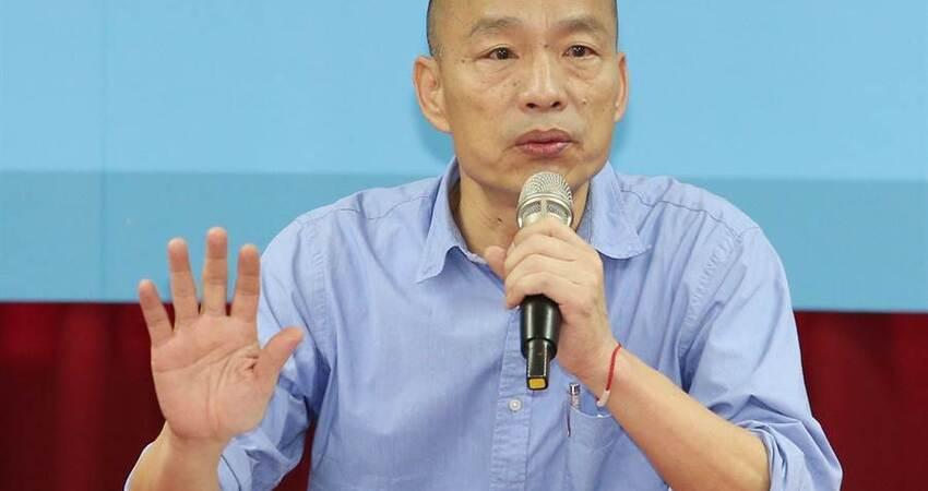 韓國瑜:南部不是只要錢 中央要用心