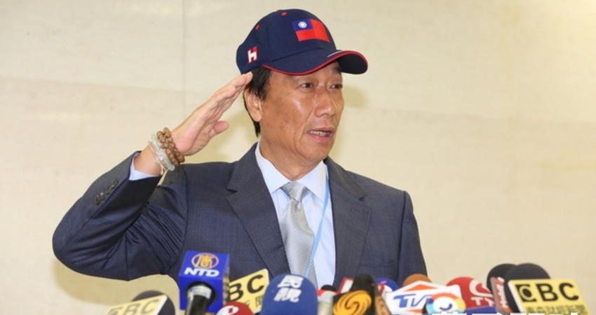 不期待國民黨「換瑜」郭台銘9月參選醞釀「棄韓保郭」