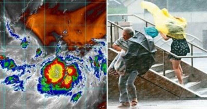 白鹿颱風貫穿全台!氣象局預估「週五海陸警齊發」防強風豪雨 周末橫掃陸地「兩大地區影響最嚴重」