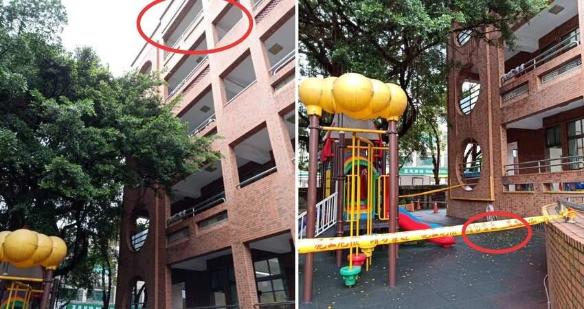 放學後校隊練習,新北市板橋區某國小學生被從5樓推下墜樓,家長心痛求真相