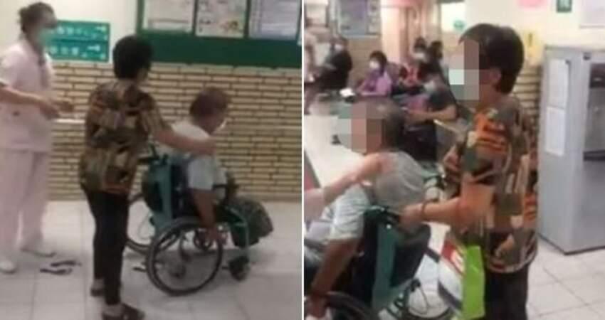 護理師被罵到哭!輪椅夫妻要求插隊看診氣「空號一直跑」大罵醫護:看屁啊!