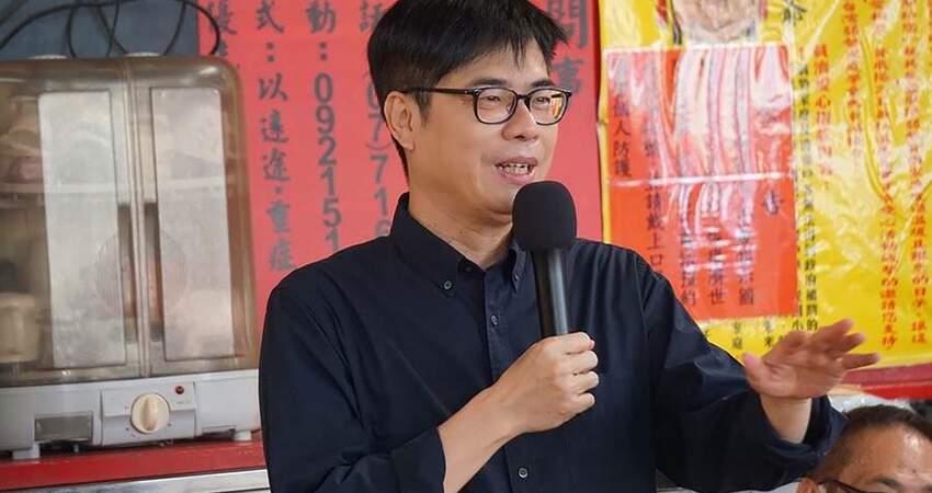 這次再沒選上高雄市長陳其邁:我實在是⋯