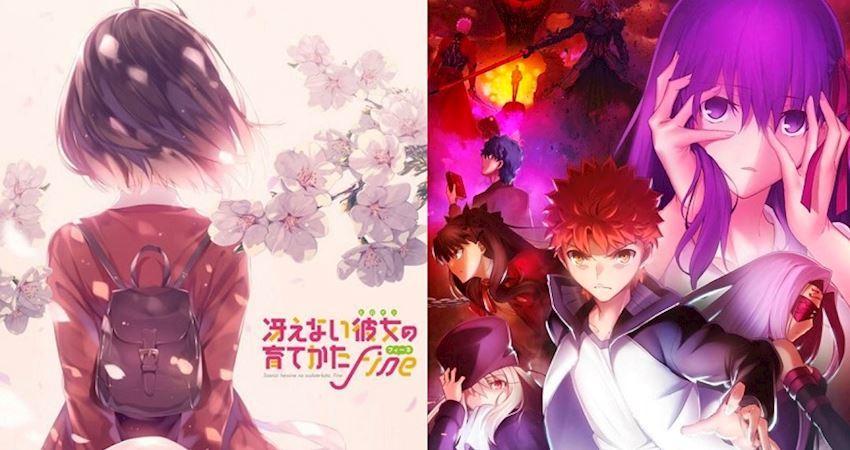 明年即將上映的10部熱門劇場版動畫,好期待《FateHF》第二章!