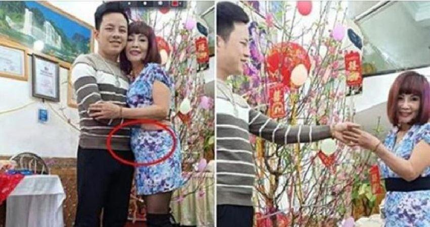 62歲女子嫁給26歲帥小夥,8個月後宣布有了??,醫生直言:這不可能!