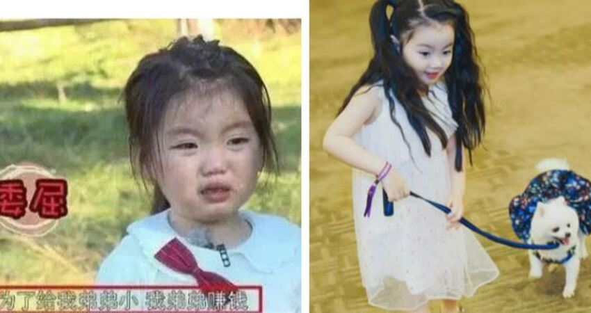 因長得可愛被家人當作「搖錢樹」的她,4歲爆紅,7歲巨星范十足