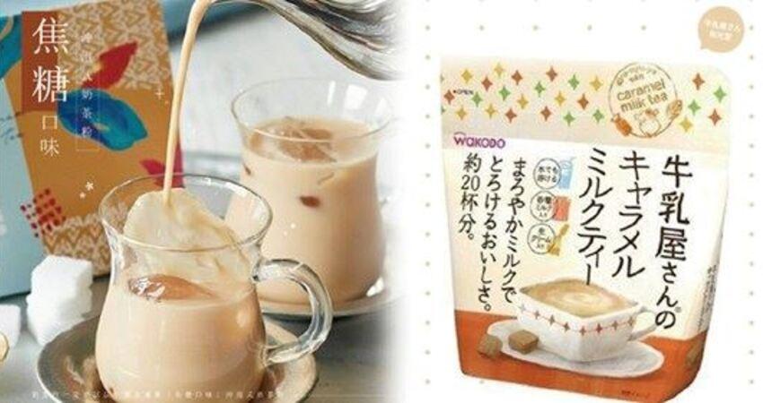 奶茶控必看,沖泡式焦糖奶茶粉,推薦其中這款「海鹽焦糖口味」,喝過的網友都狂推!