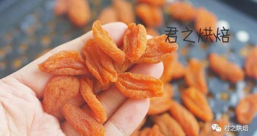 杏兒季節即將來臨,手工的杏干試一下?可不一樣了