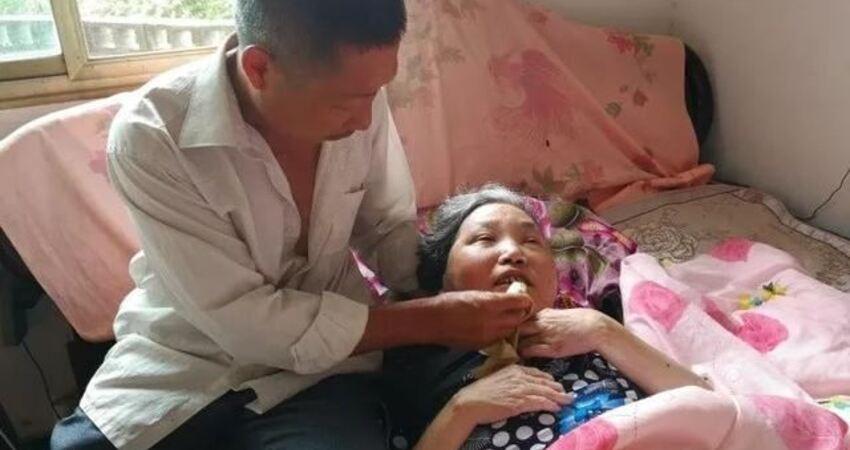 真男人!結婚第二年妻子發病,磐安男子35年不離不棄